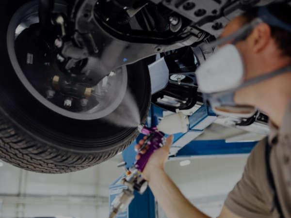 Покрытие автомобиля антикором